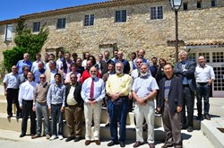 More than 50 experts on ion cyclotron radio frequency design, engineering, and physics met in Cadarache last week for the antennas' preliminary design review, conducted by Jean Jacquinot. (Click to view larger version...)